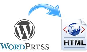 Как в WordPress получить полную html копию сайта